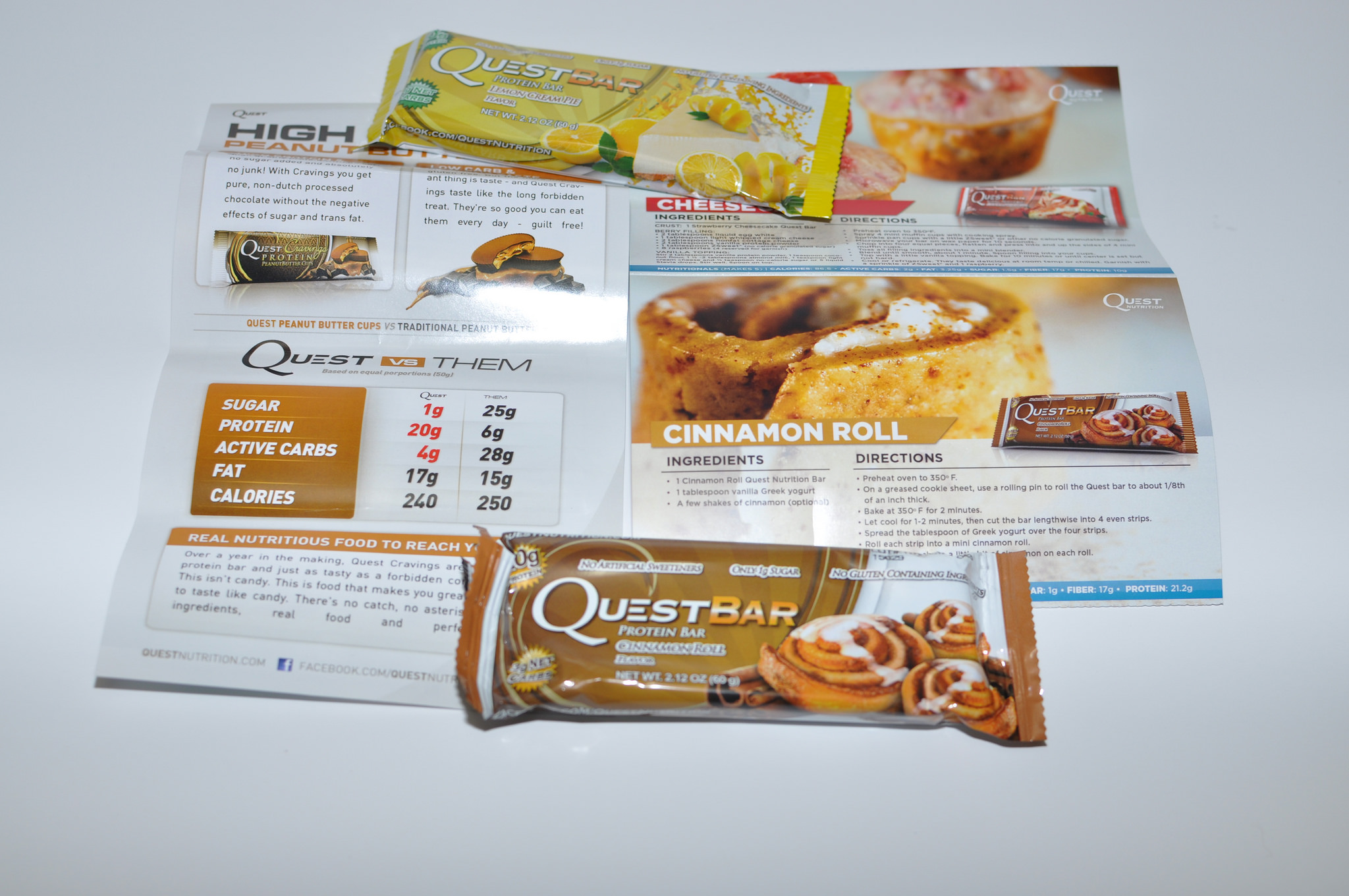 Best Quest protein bars